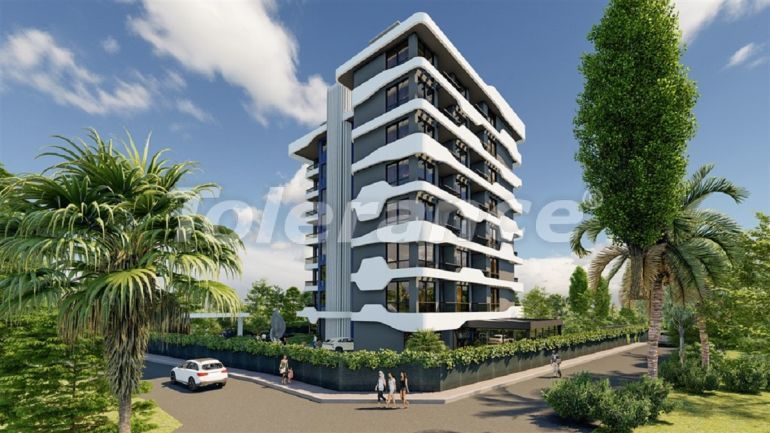 Apartments in Avsallar, Alanya from the developer in a complex with a swimming pool - 34519 | Tolerance Homes