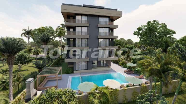 Luxurious apartments in Liman, Konyaalti from the developer with installments - 34725 | Tolerance Homes