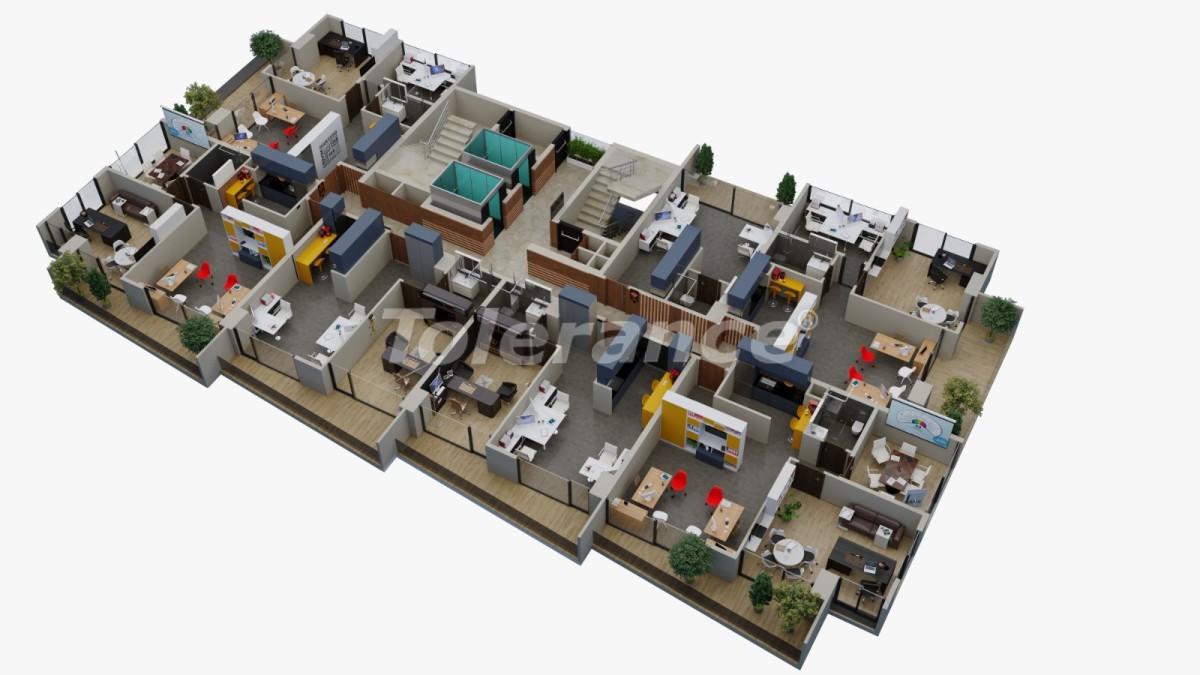 Office premises in Yenisehir, Mersin - 35108 | Tolerance Homes