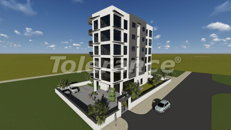 Two-bedroom apartments in Yenisehir, Mersin from developer with installments up to 1 year - 35232 | Tolerance Homes