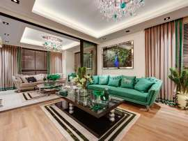 Luxurious apartments in Yenisehir, Mersin in a complex with extensive facilities