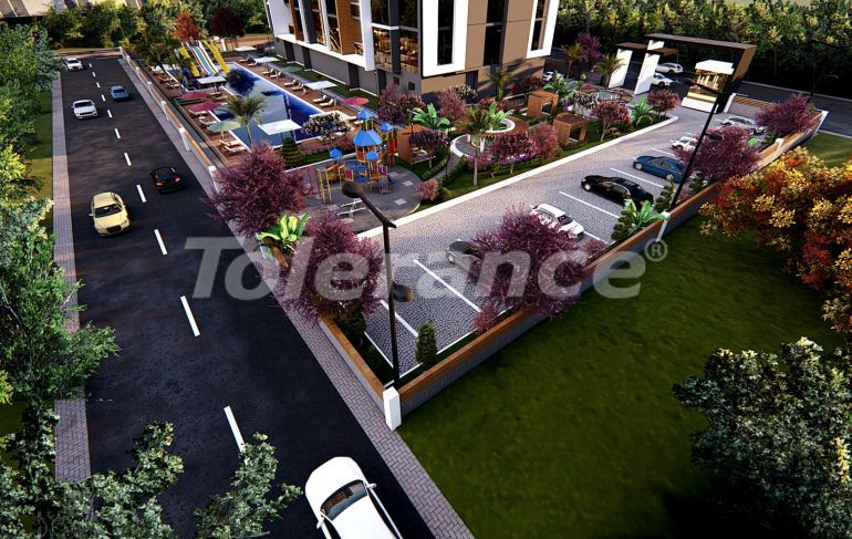 Modern design apartments in Mezitli, Mersin by installments from the developer - 36339 | Tolerance Homes