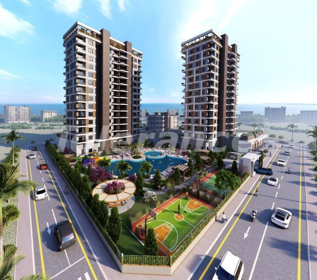 Apartments in Tece, Mersin in a complex with infrastructure and installments from the developer - 35800 | Tolerance Homes