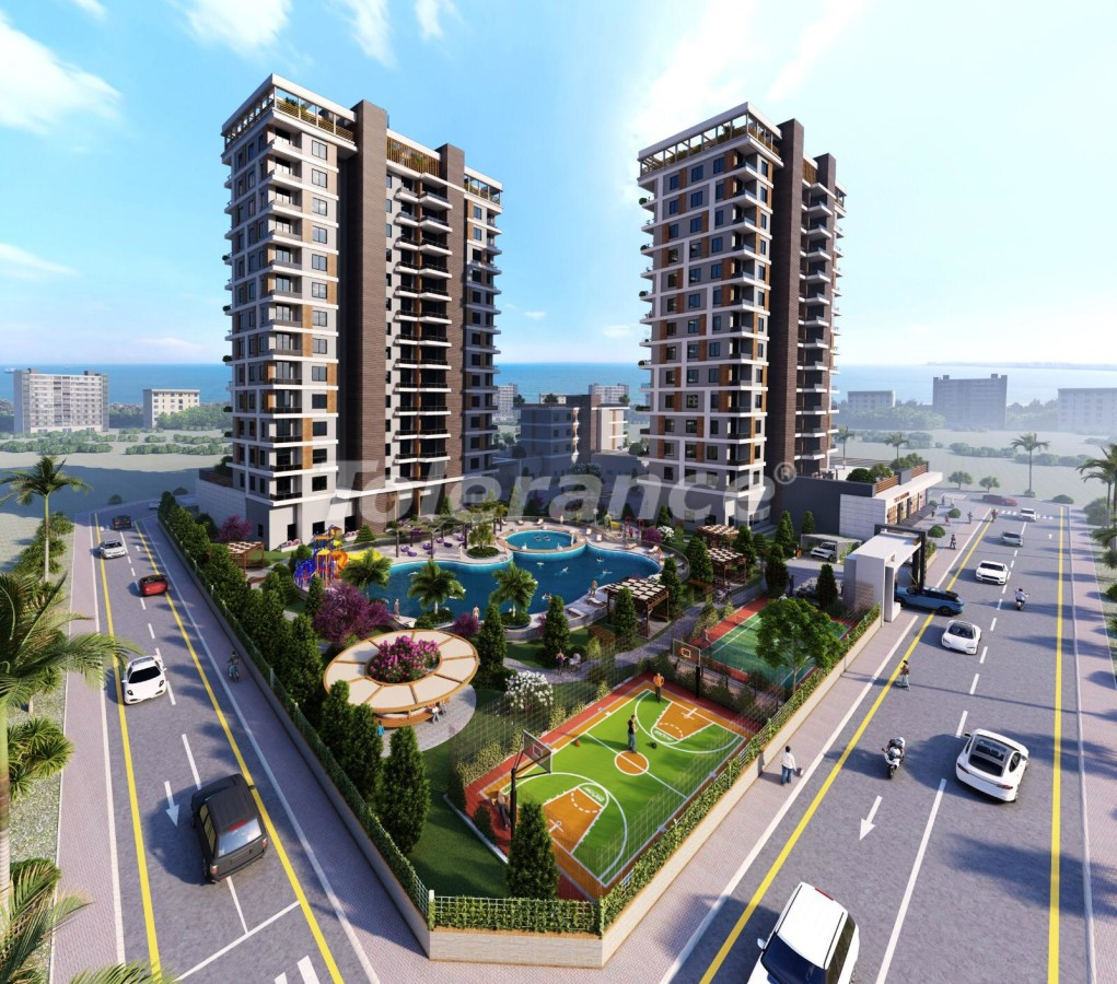 Apartments in Tece, Mersin in a complex with infrastructure and installments from the developer - 35830 | Tolerance Homes