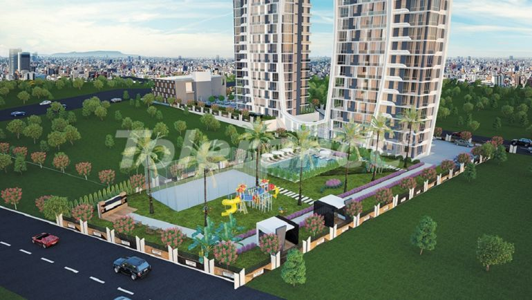 Apartments in Yenisehir, Mersin in a complex near the university and the hospital - 35833 | Tolerance Homes