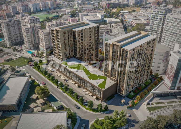 Modern apartments in Topkapi, Istanbul with installments from the developer - 35888 | Tolerance Homes