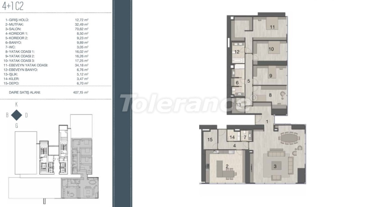 Elite apartments in the most prestigious area of Istanbul from the developer - 35963   Tolerance Homes