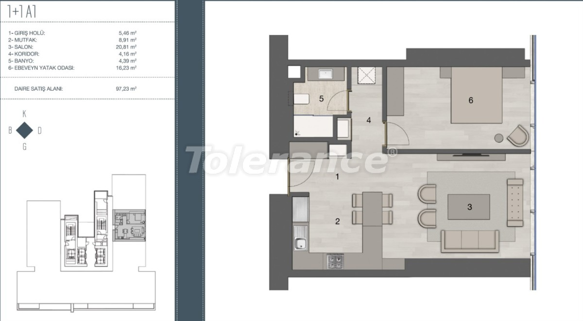 Elite apartments in the most prestigious area of Istanbul from the developer - 35956   Tolerance Homes