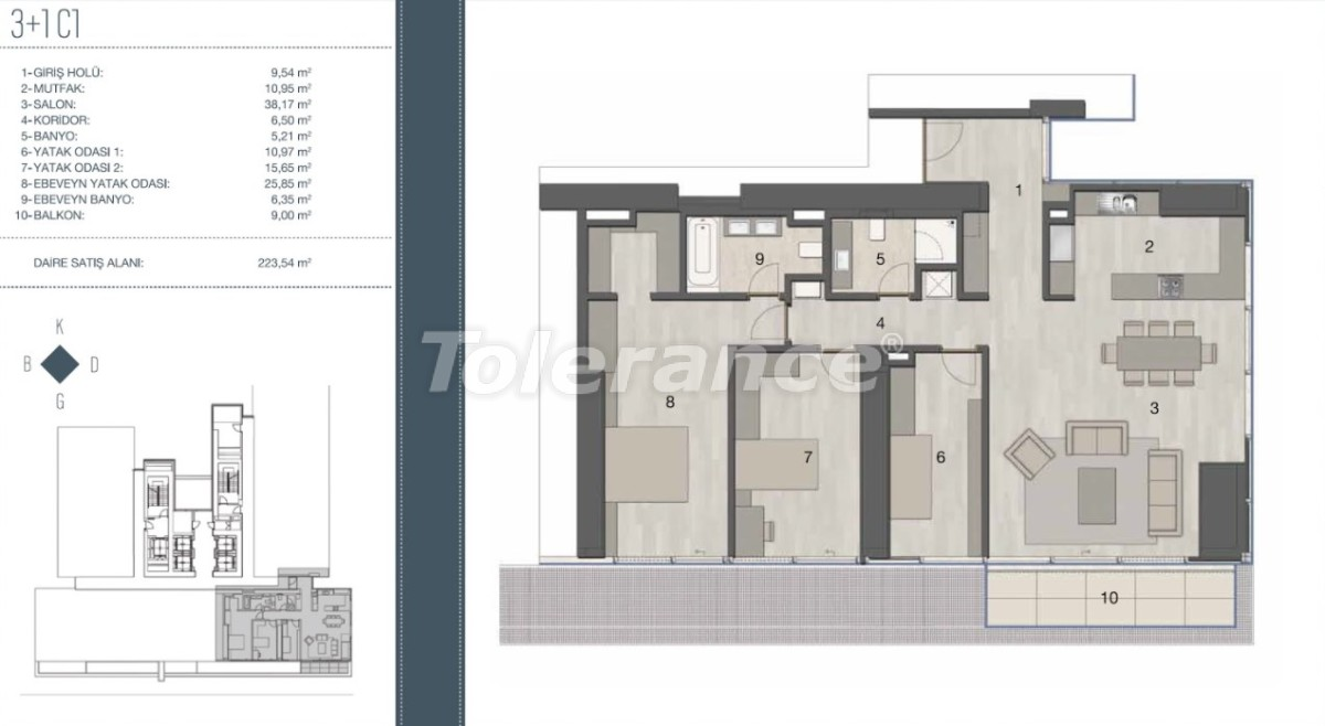 Elite apartments in the most prestigious area of Istanbul from the developer - 35961   Tolerance Homes