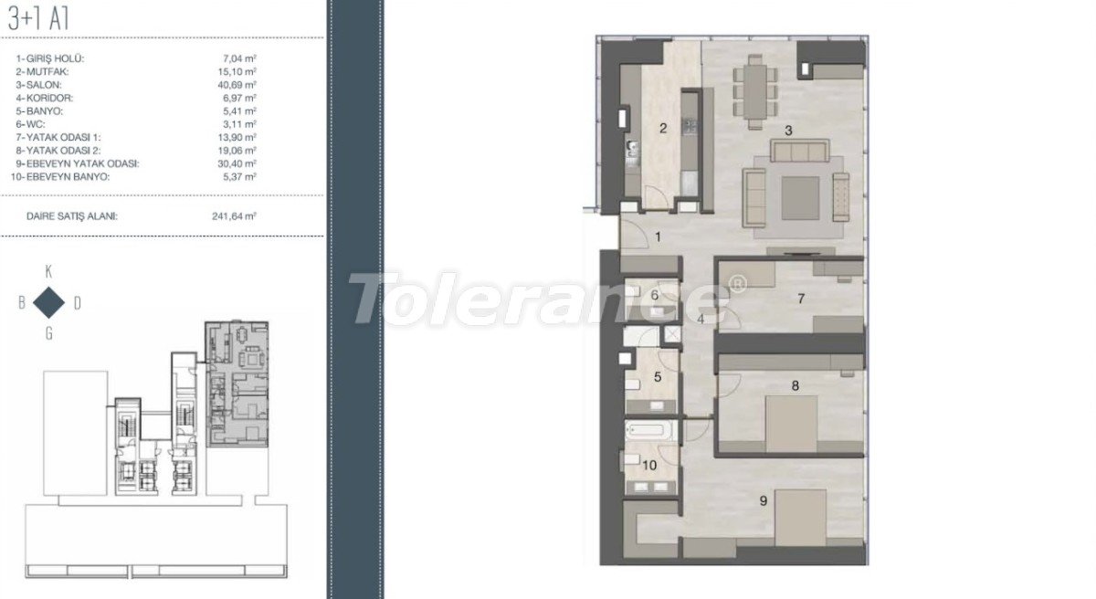 Elite apartments in the most prestigious area of Istanbul from the developer - 35960   Tolerance Homes