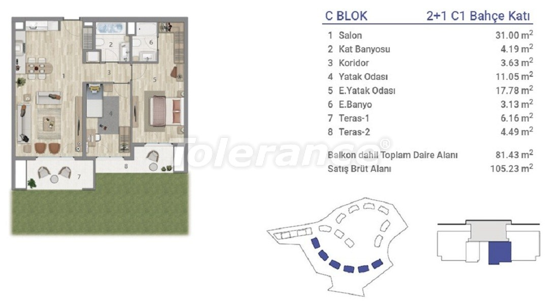 Apartments in Eyapsultan, Istanbul in a project with a state guarantee - 36272   Tolerance Homes