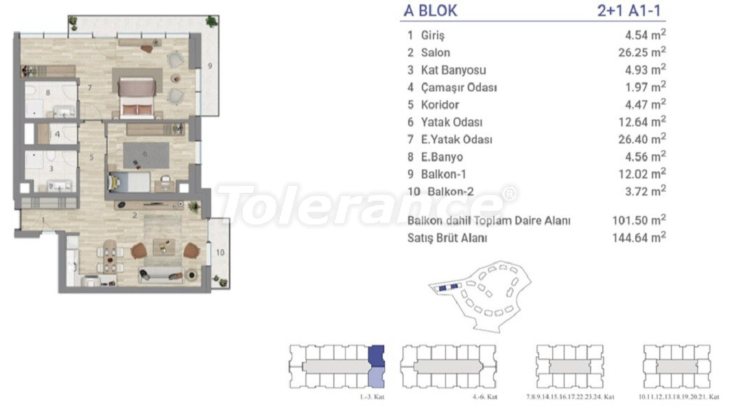 Apartments in Eyapsultan, Istanbul in a project with a state guarantee - 36270   Tolerance Homes