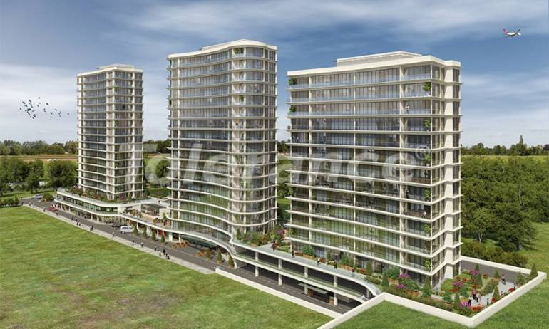 Apartments in Istanbul in a complex with extensive facilities in Basin Express area - 38072 | Tolerance Homes