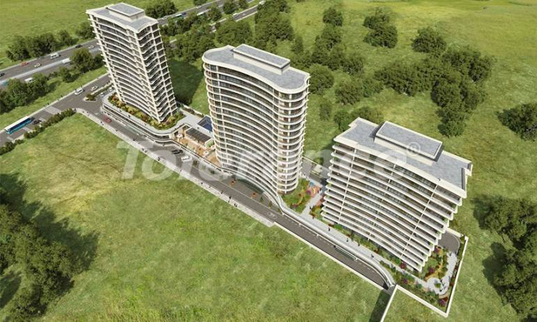 Apartments in Istanbul in a complex with extensive facilities in Basin Express area - 38069 | Tolerance Homes