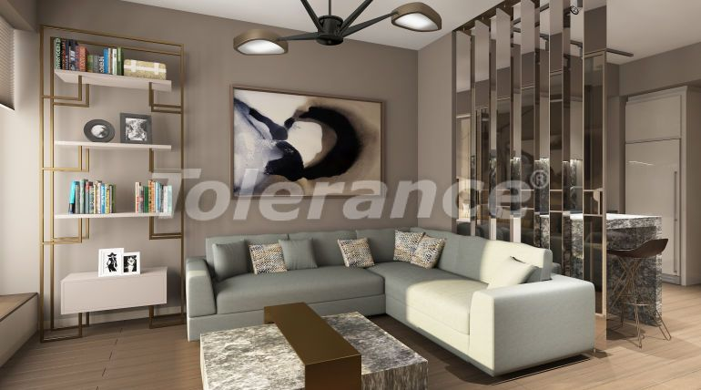 Luxury apartments in Kadikoy, Istanbul in a hotel-type complex with 3 years rental guarantee - 42094 | Tolerance Homes