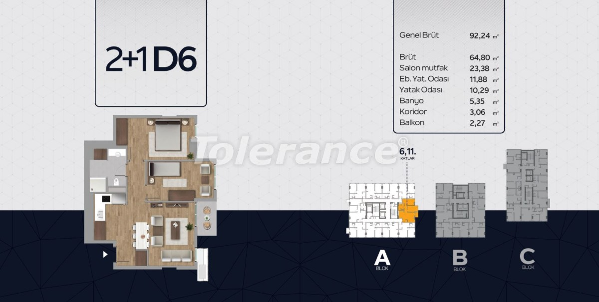 Apartments in the center of Istanbul from the developer with installments up to 2 years and possibility to obtain citizenship - 40818 | Tolerance Homes