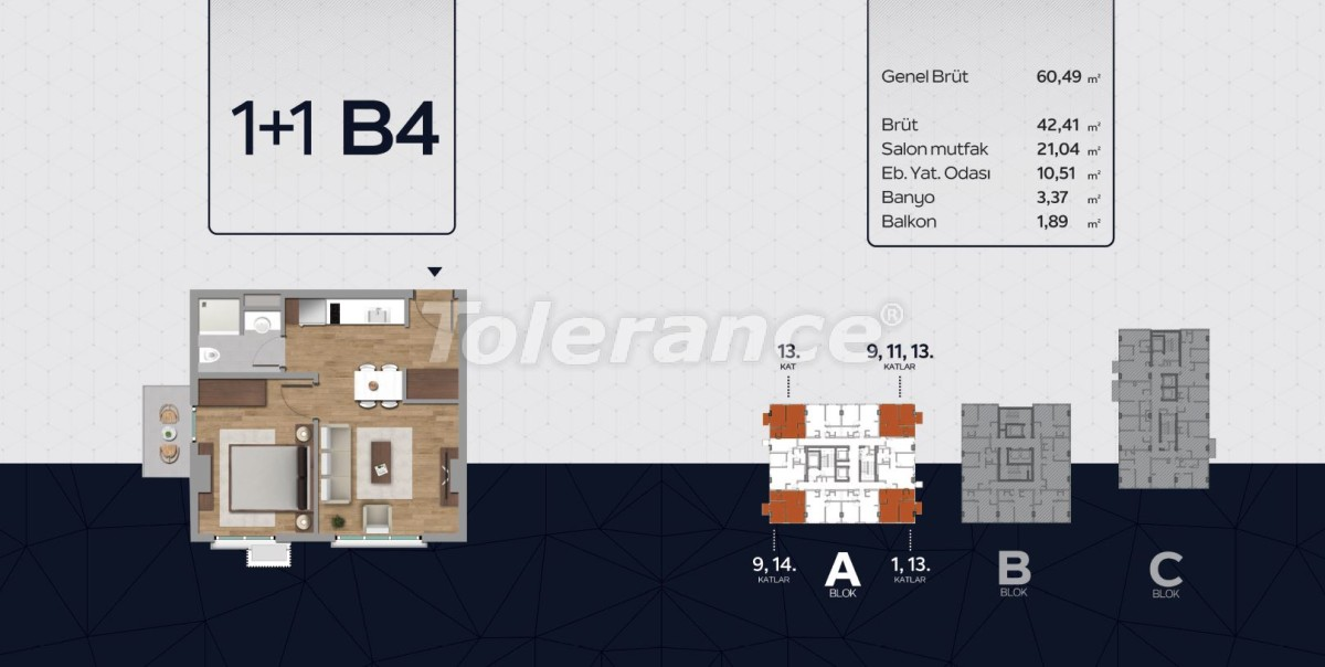 Apartments in the center of Istanbul from the developer with installments up to 2 years and possibility to obtain citizenship - 40812 | Tolerance Homes