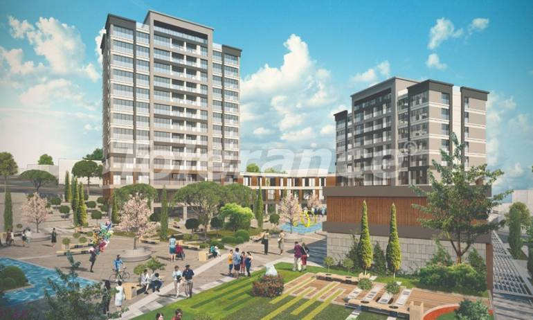 Modern apartments in Beylikduzu, Istanbul profitable for investment with possibility to obtain Turkish citizenship - 38612 | Tolerance Homes
