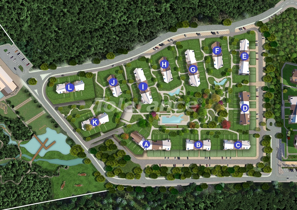 Modern apartments in Istanbul in an ecological area from the developer and with the government guarantee - 40290 | Tolerance Homes