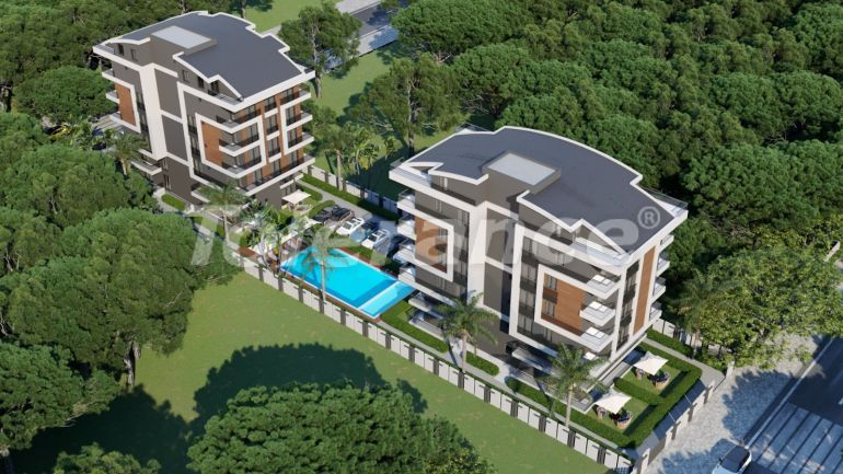Modern apartments in Sarisu, Konyaalti by installment from a reliable developer - 39026   Tolerance Homes