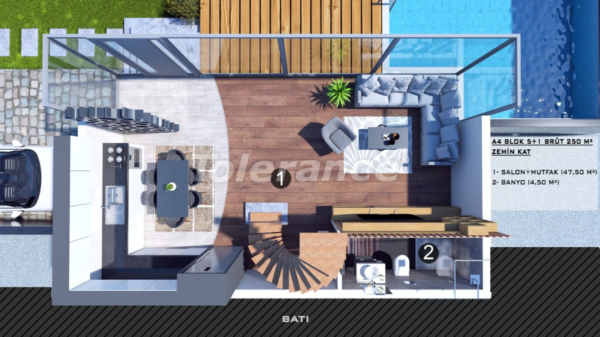 Townhouses in Kundu, Antalya with a private pool from a reliable developer - 39064 | Tolerance Homes