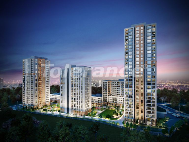Modern complex with apartments in Bahcesehir, Istanbul by installments for 9 years from the developer - 39138   Tolerance Homes
