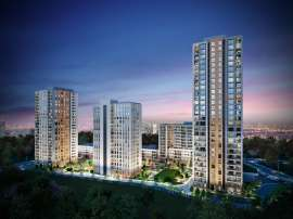 Modern complex with apartments in Bahcesehir, Istanbul by installments for 9 years from the developer - 39138 | Tolerance Homes