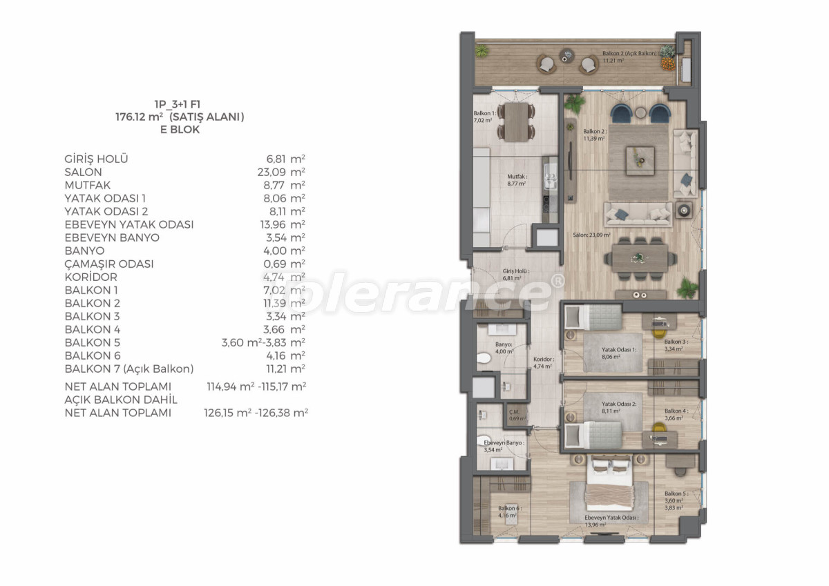 Modern complex with apartments in Bahcesehir, Istanbul by installments for 9 years from the developer - 39082   Tolerance Homes