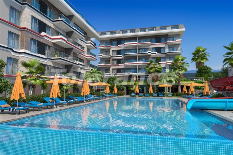 Apartments in Kargicak, Alanya profitable for investment with installments up to 15 months - 39169 | Tolerance Homes