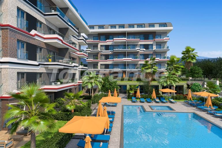 Apartments in Kargicak, Alanya profitable for investment with installments up to 15 months - 39172 | Tolerance Homes