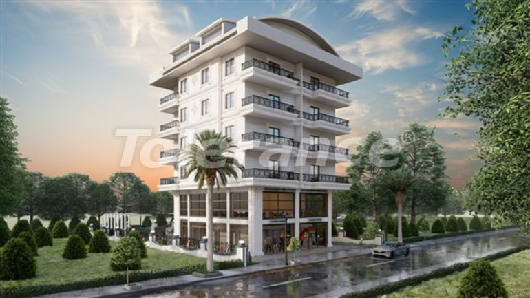 The new complex in Kargicak, Alanya, only 500 m to the beach - 39290 | Tolerance Homes