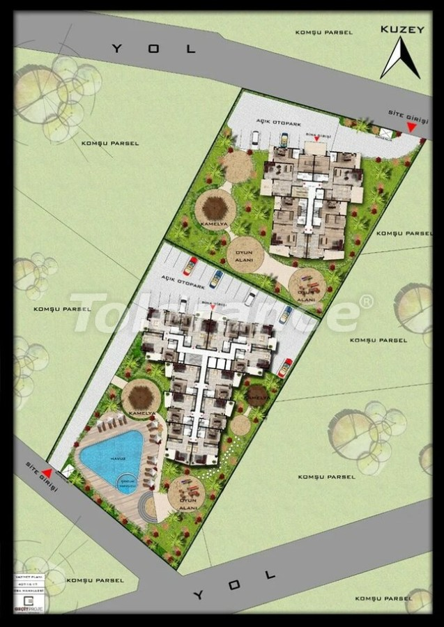 Modern apartments in Oba, Alanya by installment from a reliable developer - 39398   Tolerance Homes