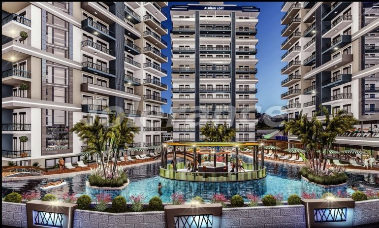 Apartments in Mahmutlar, Alanya in a complex with extensive facilities - 39525 | Tolerance Homes