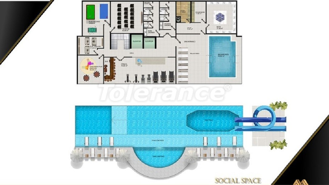 Affordable apartments in Avsallar, Alanya from the developer - 39582   Tolerance Homes