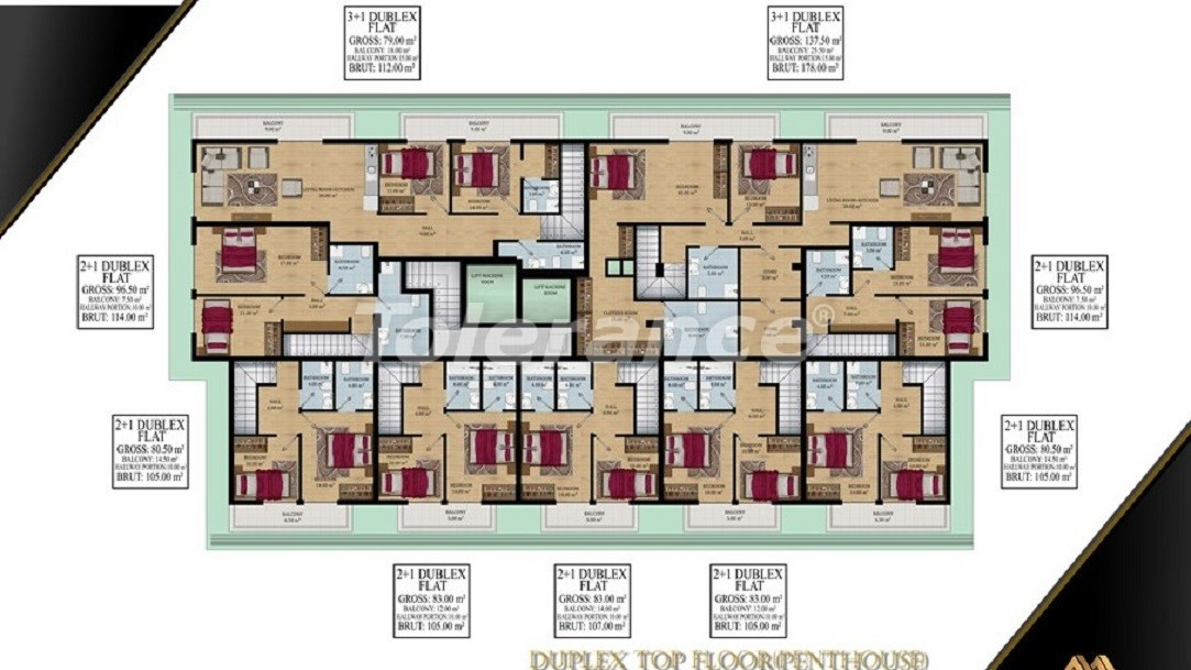 Affordable apartments in Avsallar, Alanya from the developer - 39581   Tolerance Homes