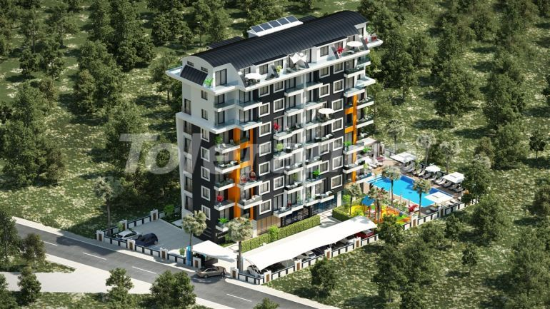 Modern complex with apartments in Avsallar, Alanya by installments for 1 year from the developer - 39584   Tolerance Homes