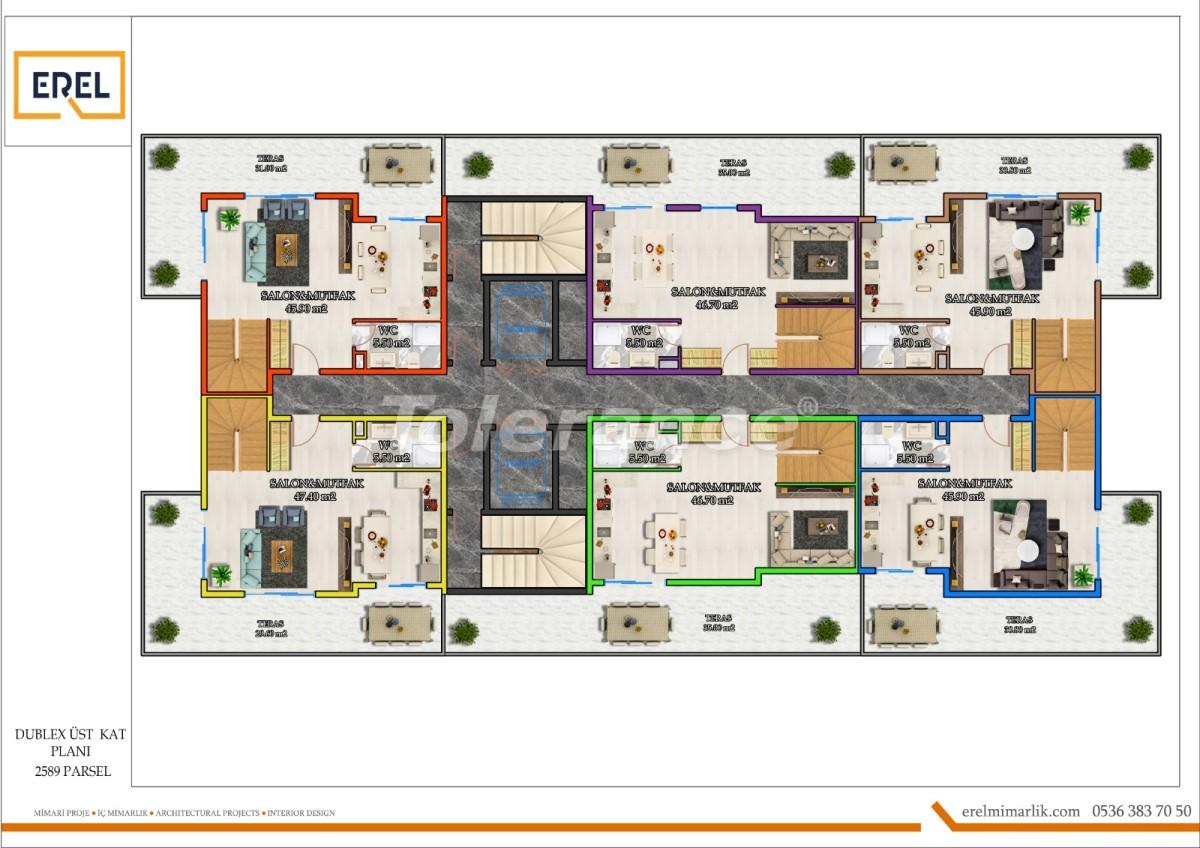 Elite apartments in Mahmutlar, Alanya in a hotel type complex - 39630 | Tolerance Homes