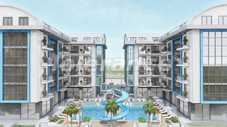 Inexpensive apartments in Oba, Alanya from the developer - 39659 | Tolerance Homes