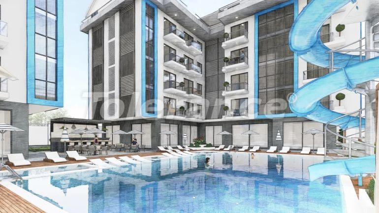 Inexpensive apartments in Oba, Alanya from the developer - 39660 | Tolerance Homes