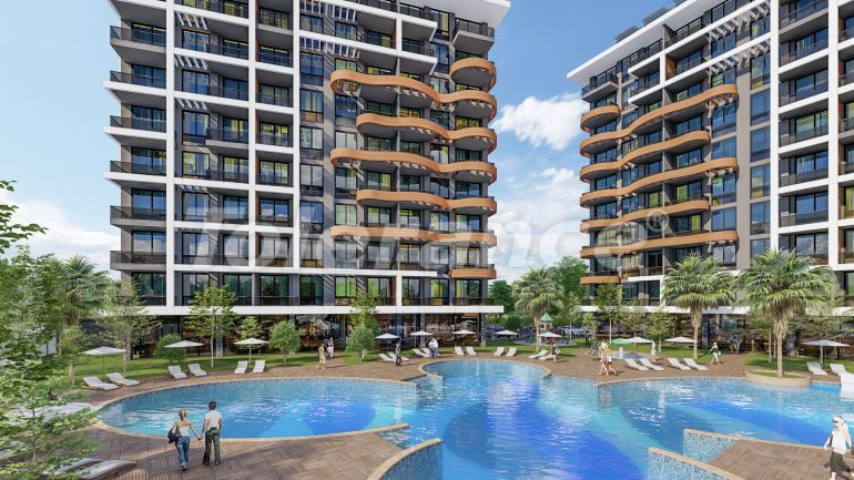 Apartments in Avsallar, Alanya in a modern complex, by installments from the developer - 39696   Tolerance Homes