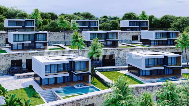 Modern villas in Alanya, with panoramic sea view - 39707 | Tolerance Homes
