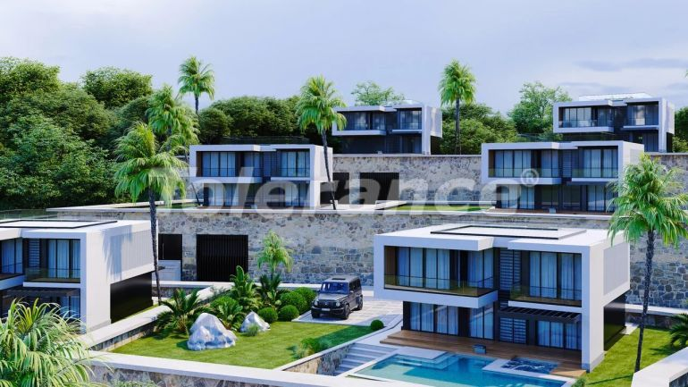 Modern villas in Alanya, with panoramic sea view - 39708 | Tolerance Homes