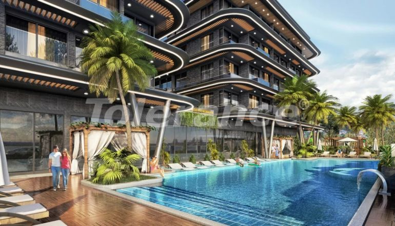 Modern apartments in Alanya from a reliable developer - 39759   Tolerance Homes