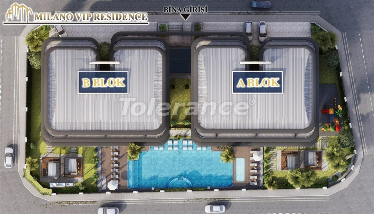 Modern apartments in Alanya from a reliable developer - 39846   Tolerance Homes