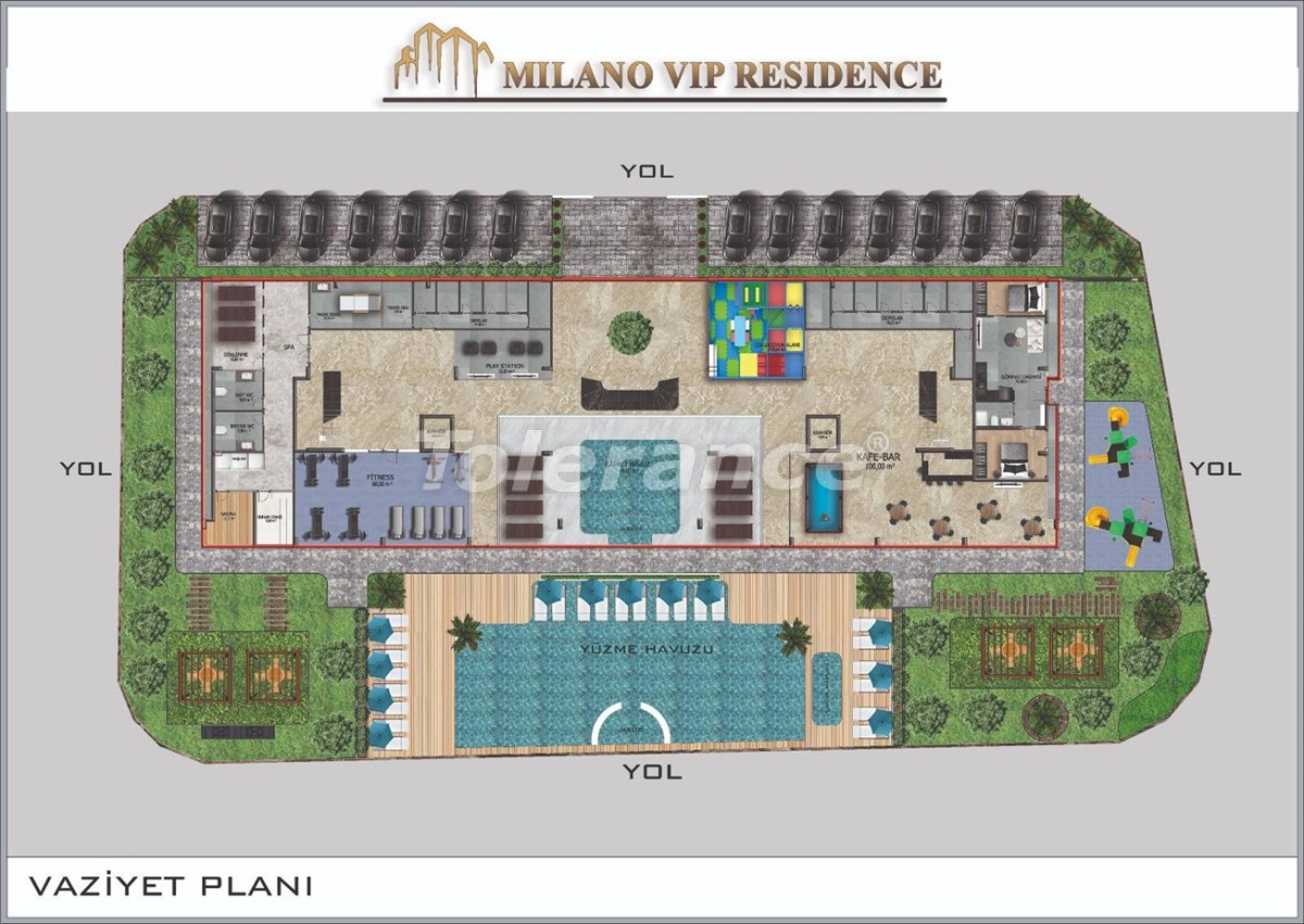 Modern apartments in Alanya from a reliable developer - 39845 | Tolerance Homes