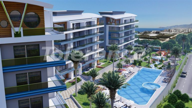 Luxury apartments in Kargicak, Alanya by installments from the developer in a hotel-type complex - 39780 | Tolerance Homes