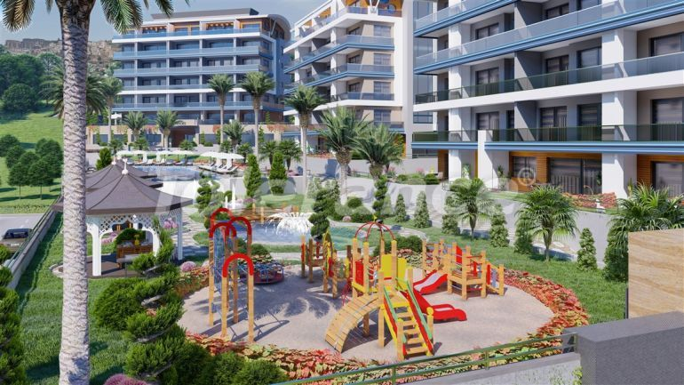 Luxury apartments in Kargicak, Alanya by installments from the developer in a hotel-type complex - 39770 | Tolerance Homes