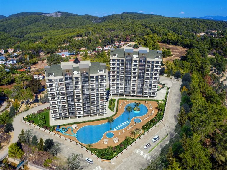 Elite apartments in Avsallar, Alanya by installments  in a hotel-type complex - 39927 | Tolerance Homes