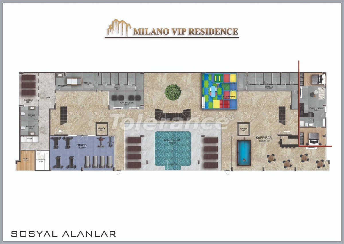 Elite apartments in Avsallar, Alanya by installments  in a hotel-type complex - 39950 | Tolerance Homes