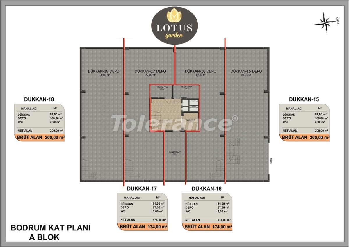 New apartments in OBA, Alanya from the developer - 40018   Tolerance Homes